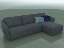 Angular sofa Moon (3140 x 1800 x 770, 314MOO-180-CR)