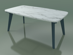 Dining table (234, Marble, Blue)