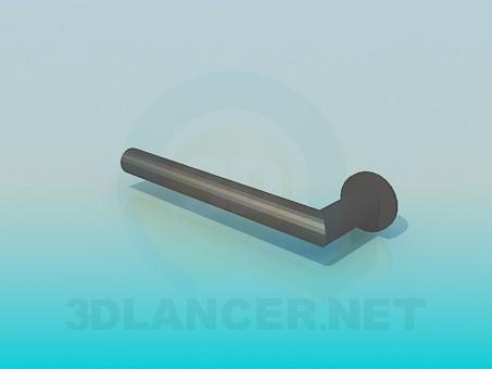 3d модель Рукоятка дверная – превью