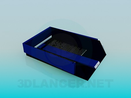 3d model Container for documents - preview