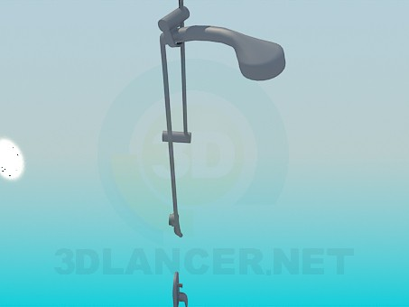 3d model Shower - preview