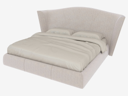 Double bed HERON (283x240xH132)