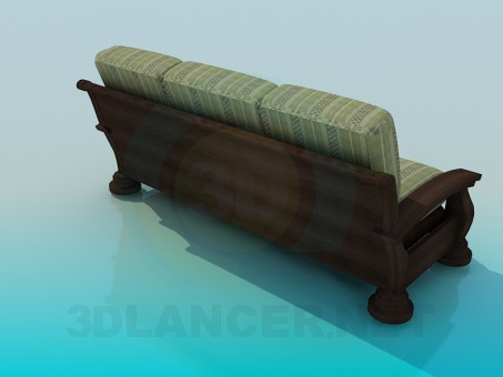 3d model Sofa High Poly - preview