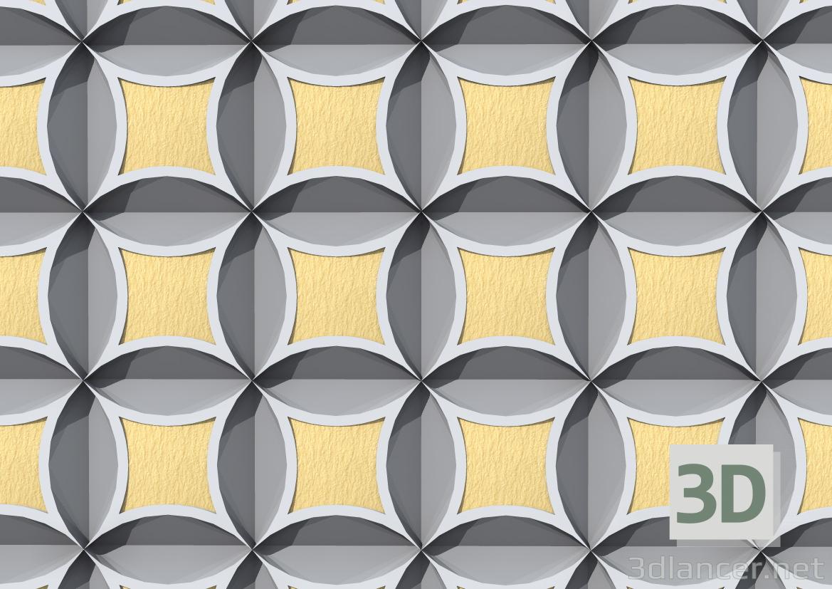 3d 3D Panel model buy - render