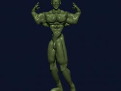 vücut geliştirici