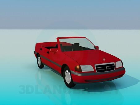 3d model Mercedes - preview