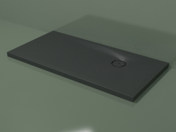 Shower tray (30UBС112, Deep Nocturne C38, 140 X 70 cm)