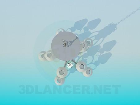 3d модель Высокая люстра – превью