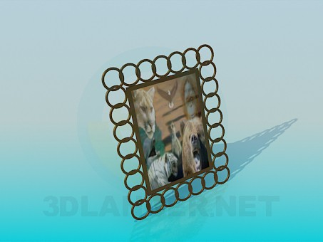 3d modeling Frame for the photo model free download