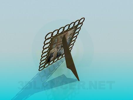 3d модель Рамка под фотографию – превью