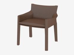 Leather armchair 414 CAB