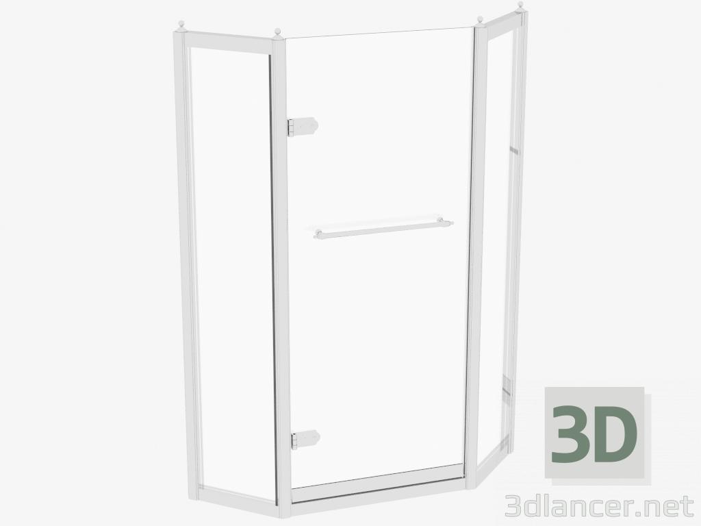 descarga gratuita de 3D modelado modelo Cabina de ducha Savoy J