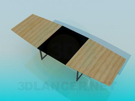 3d model Mesa plegable - vista previa
