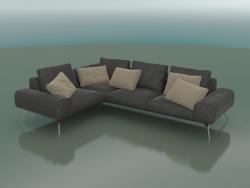 Linda corner sofa (2960 x 2160 x 700, 296LIN-216-CL)