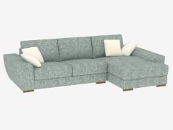 Sofá-cama esquinero modular