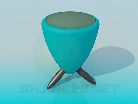 3d model Soft stool - preview