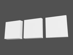 Pannelli 3D (elementi) Tetris