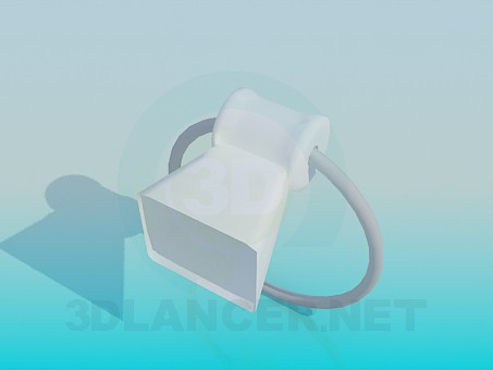 modelo 3D Toallero redondo - escuchar