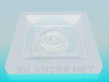 3d model Salida de techo - vista previa