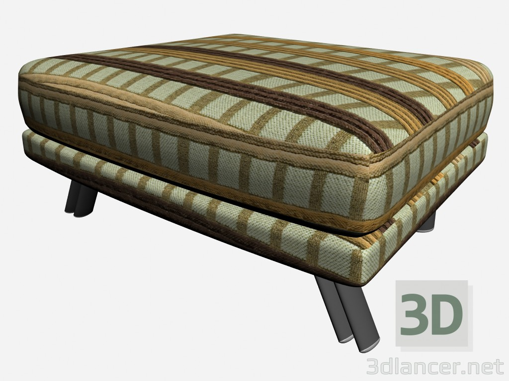 3d model Footrest Super roy - preview