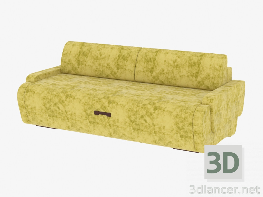 3d model double sofa bed manufacturer pushe id 19307 for Sofa bed 3d model