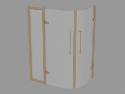 Shower cabin angular Savoy W