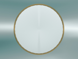 Sillon Mirror (SH5, Ø66cm, Brass)