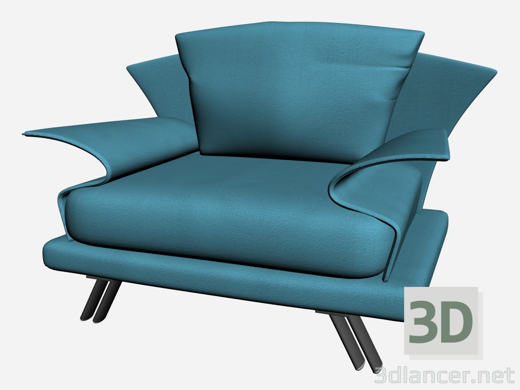 3d modeling Super Chair roy 1 model free download