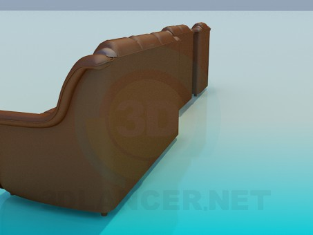 modelo 3D Un conjunto de sofás - escuchar