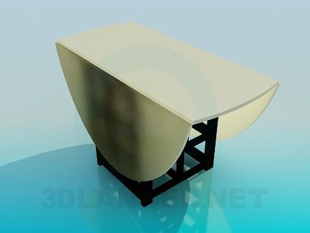 descarga gratuita de 3D modelado modelo Mesa abatible