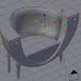 3 डी मॉडल फर्नीचर के 3 डी-मॉडल का एक सेट - पूर्वावलोकन