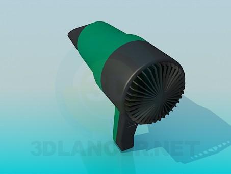 3d model Hair Dryer - preview