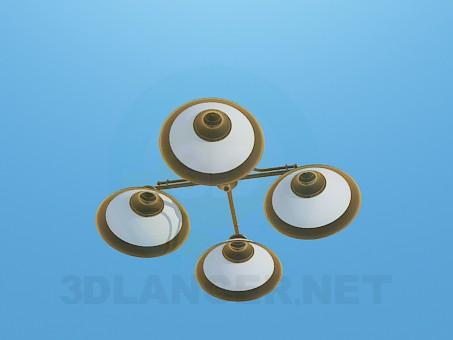 3d модель Пріпотолочние світильник – превью