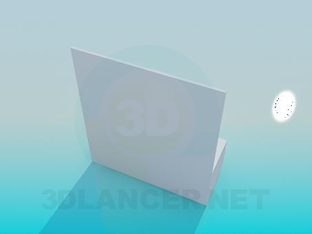 3d model A shelf in the hallway - preview