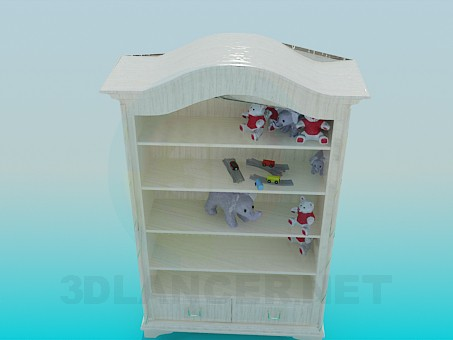 3d model Rack for toys - preview