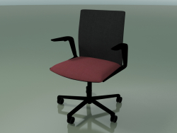 Chair 4805 (5 wheels, upholstery - mesh and fabric, V39)