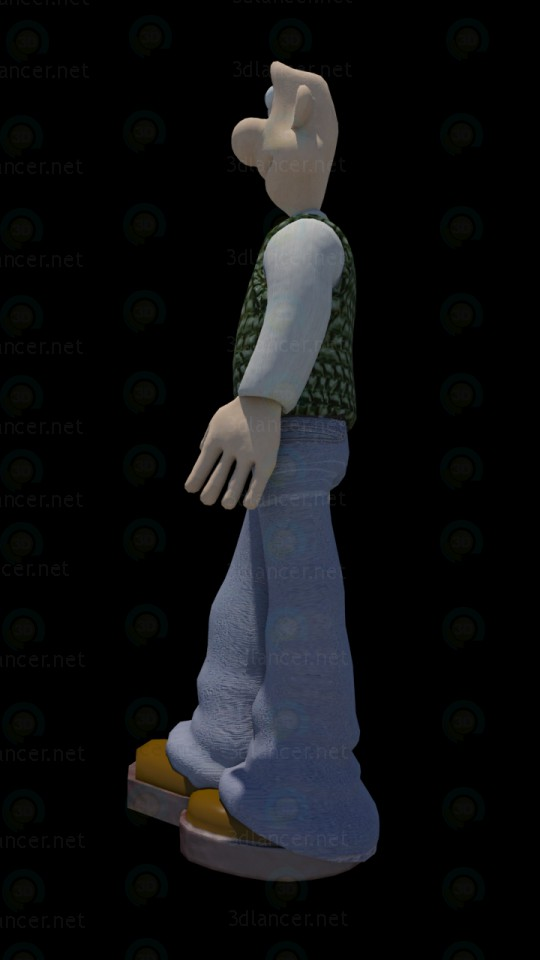 3d Wallace (Wallace) model buy - render