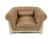 Sessel Cocoon Chesterfield BLEU nature