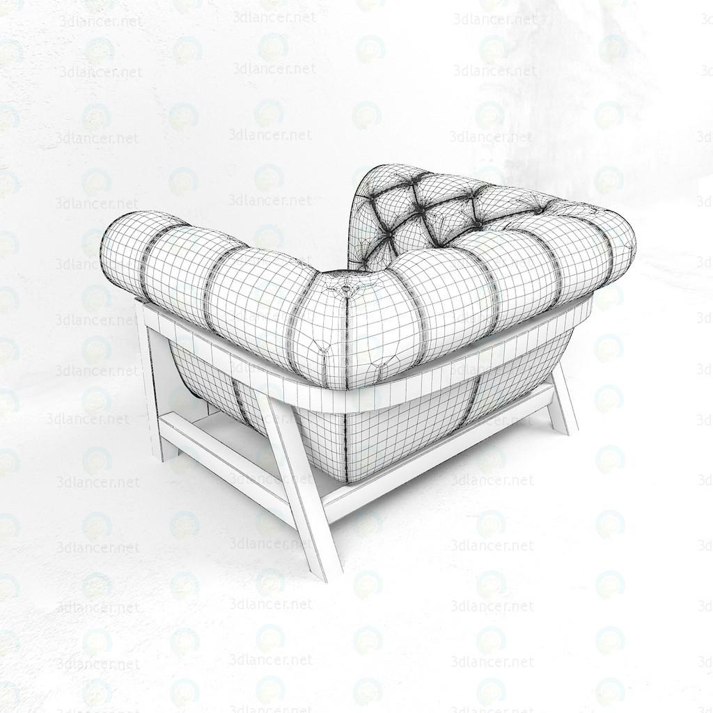 Capullo Cocoon Chesterfield BLEU nature 3D modelo Compro - render