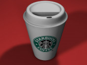 Xícara de café de Starbucks