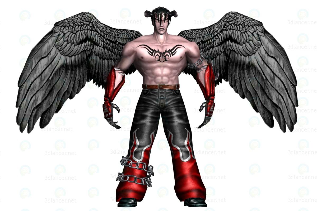 3d Человек Дьявол модель купить - ракурс