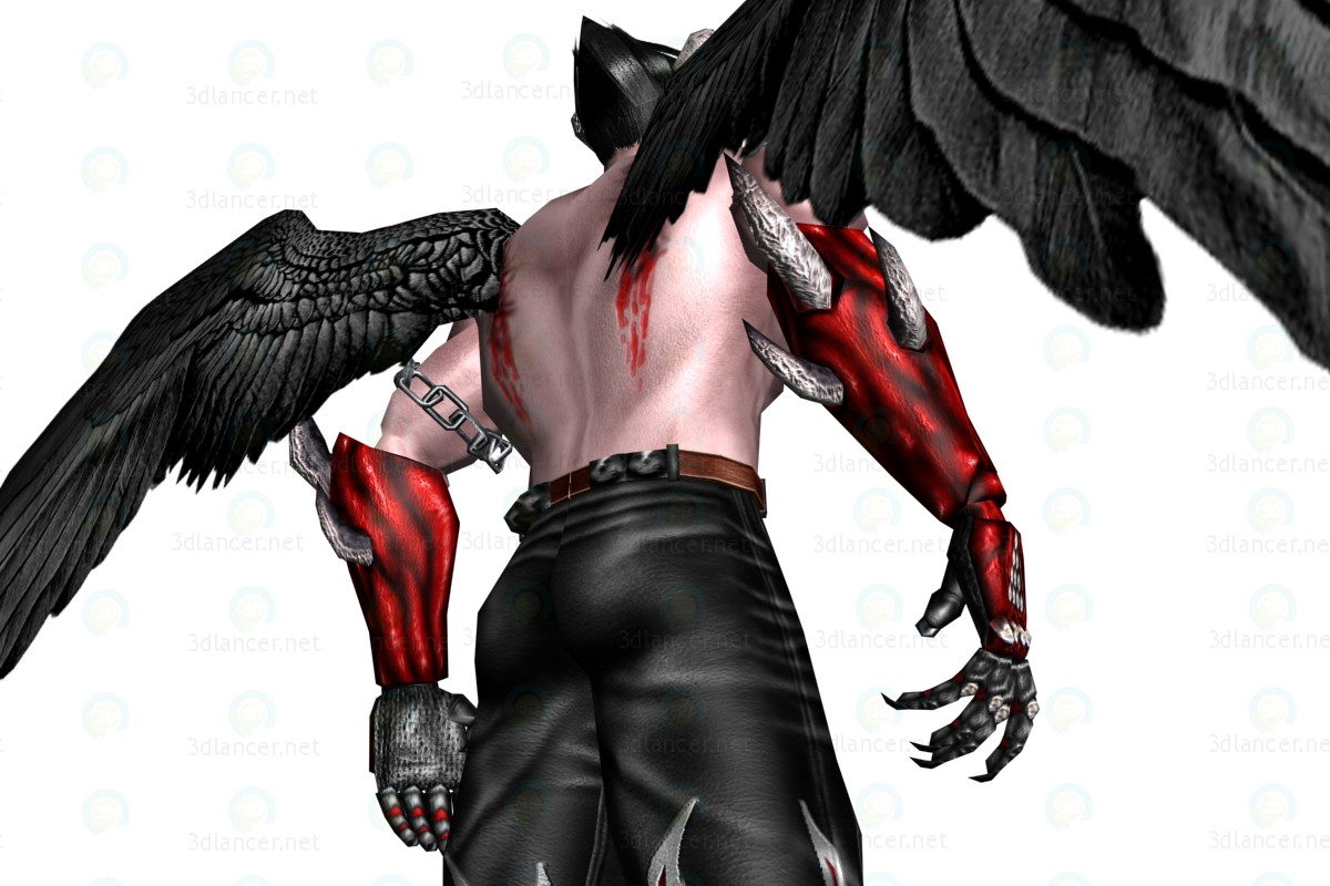 Devil Man paid 3d model by Kso preview