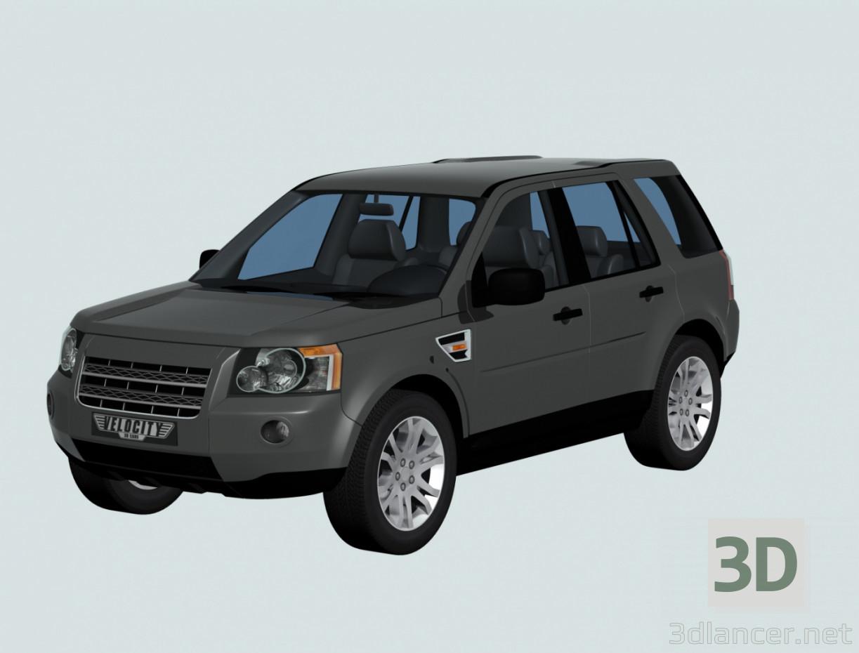 3d model LandRover FreeLAnder - preview