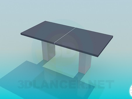 3d modeling Office table model free download