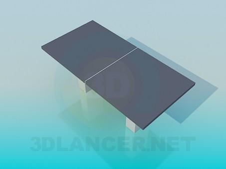3d модель Стол для офиса – превью