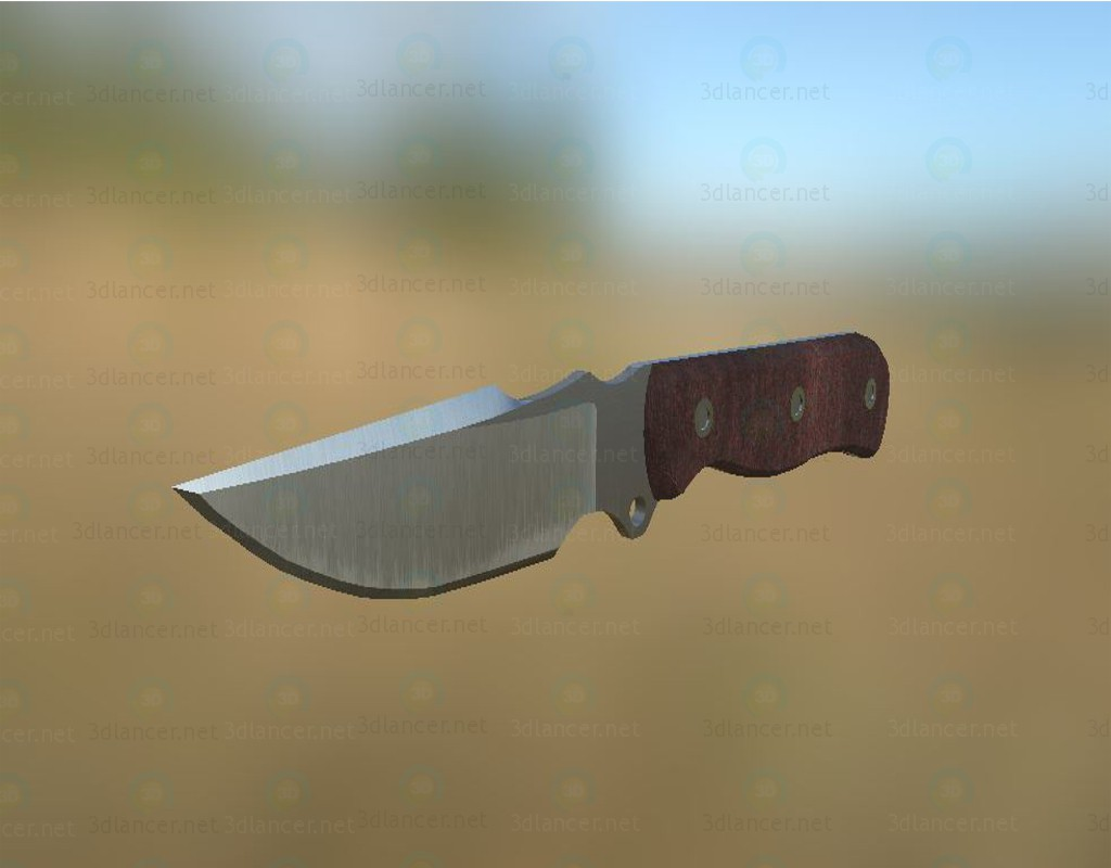 3d model BusseGrooveMasterKnife - preview