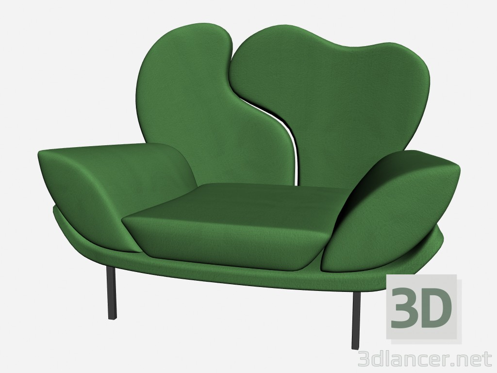 3d modeling Wing Chair model free download