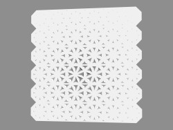 Gypsum wall panel (art. 1001)