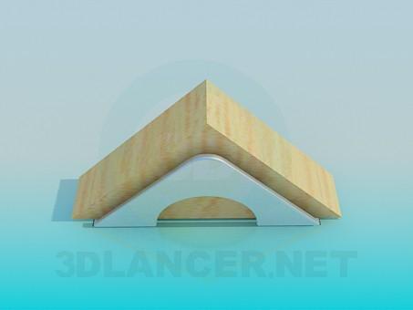 3d модель Подставка для салфеток – превью