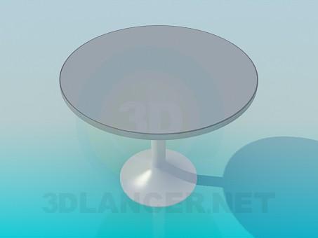modelo 3D Mesa de café redonda - escuchar